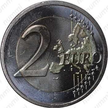 2 евро 2011, Эразм Роттердамский - Реверс