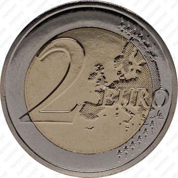 2 евро 2011, свадьба Альбера II и Уиттсток - Реверс