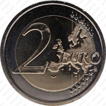 2 евро 2012, 10 лет наличного евро (Словакия) - Реверс