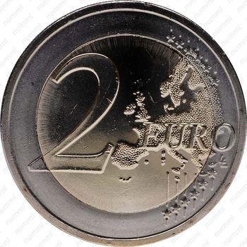 2 евро 2012, 10 лет наличного евро (Словения) - Реверс