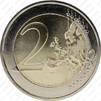 2 евро 2012, аббат Пьер - Реверс