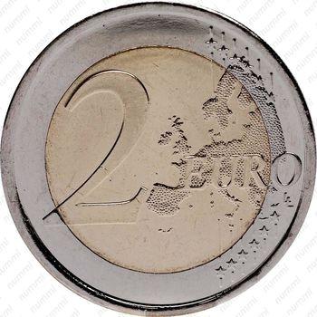 2 евро 2012, Кафедральный собор Бургоса - Реверс