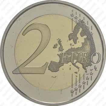 2 евро 2014, Андорра - Реверс