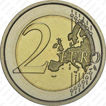 2 евро 2014, Берлинская стена - Реверс