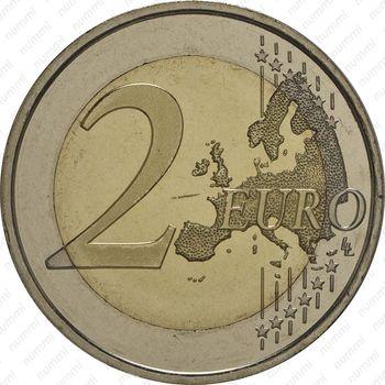2 евро 2014, Филипп VI - Реверс
