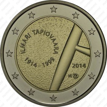2 евро 2014, Илмари Тапиоваара - Аверс