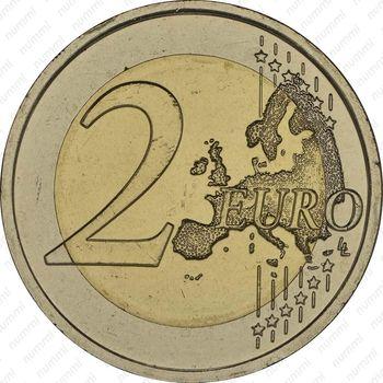 2 евро 2014, Словакия - Реверс