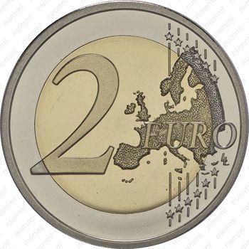 2 евро 2015, 30 лет флагу Европы (Финляндия) - Реверс