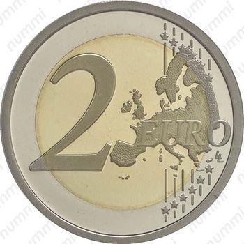 2 евро 2015, Данте Алигьери - Реверс