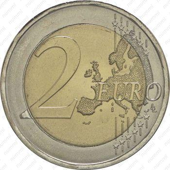 2 евро 2015, Красный Крест - Реверс