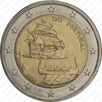 2 евро 2015, Португальский Тимор - Аверс