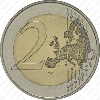 2 евро 2015, председательство Латвии - Реверс