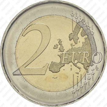 2 евро 2016, акведук в Сеговии - Реверс
