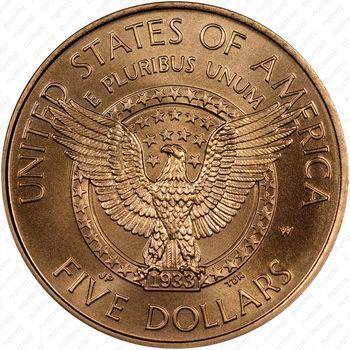 5 долларов 1997, Франклин Рузвельт