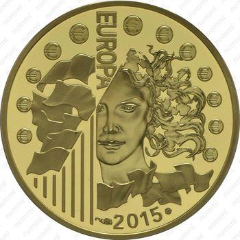 50 евро 2015, 70 лет мира в Европе
