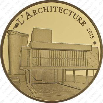 50 евро 2015, Ле Корбюзье