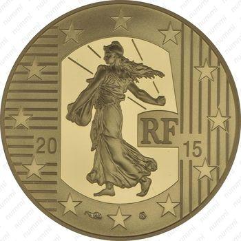 50 евро 2015, сеятельница