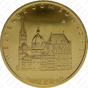 100 евро 2012, Ахенский собор