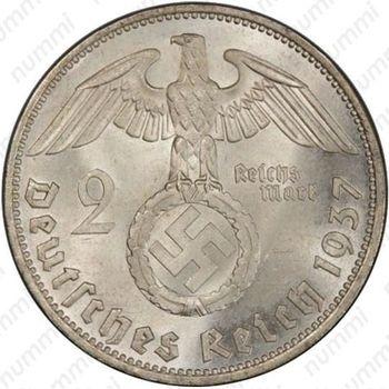 2 рейхсмарки 1937