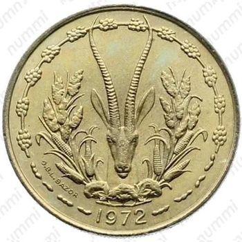 25 франков 1972