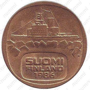 5 марок 1986, N