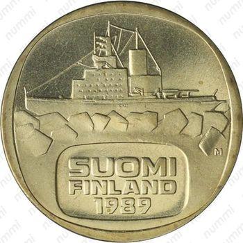 5 марок 1989, М