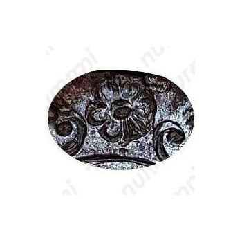 денга 1739, розетка из пяти лепестков