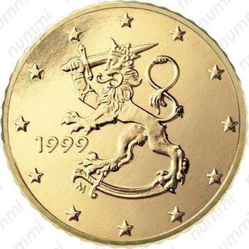 50 евро центов 1999, М - Аверс