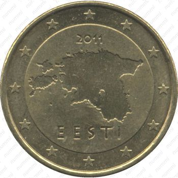 50 евро центов 2011 - Аверс