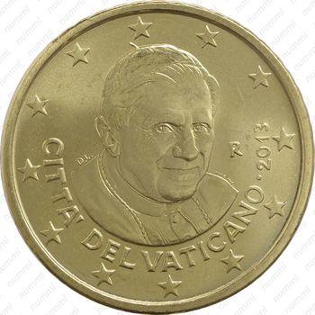 50 евро центов 2013 - Аверс