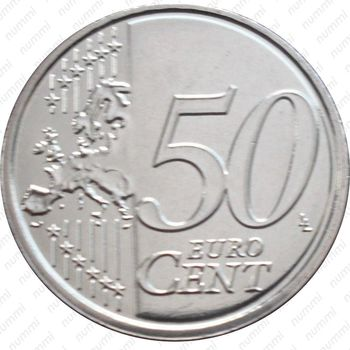 50 евро центов 2014 - Реверс