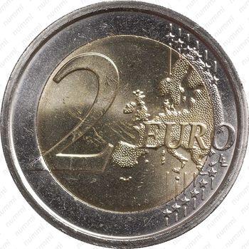 2 евро 2011, Джорджо Вазари - Реверс