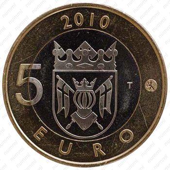 5 евро 2010, Исконная Финляндия - Аверс