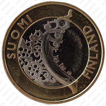 5 евро 2010, Исконная Финляндия - Реверс