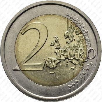 2 евро 2009, Луи Брайль - Реверс