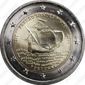 2 евро 2011, Фернан Мендеш Пинто - Аверс