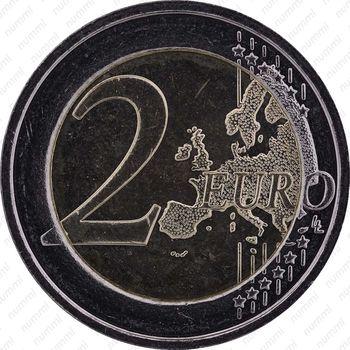 2 евро 2012, конкурс королевы Елизаветы - Реверс