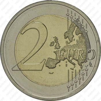 2 евро 2014, Люксембург - Реверс