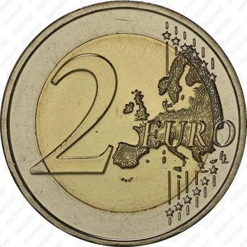2 евро 2014, полиция Мальты - Реверс