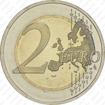 2 евро 2015, 30 лет флагу Европы (Эстония) - Реверс