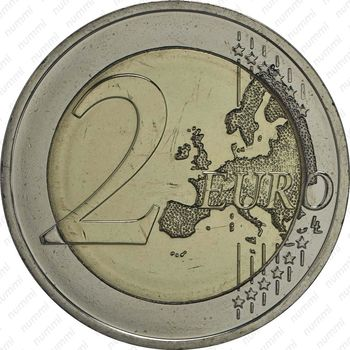 2 евро 2015, объединение Германии - Реверс