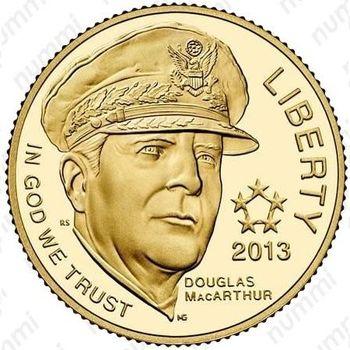 5 долларов 2013, 5 Star Generals, MacArthur (Дуглас Макартур)