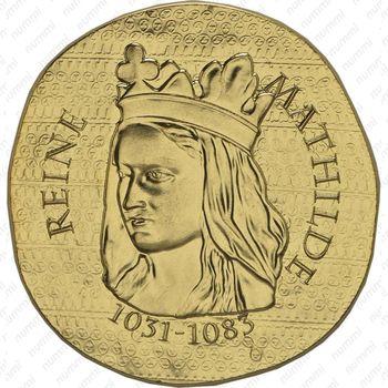 50 евро 2016, королева Матильда