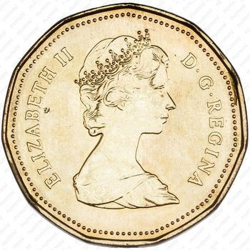 1 доллар 1987 - Аверс