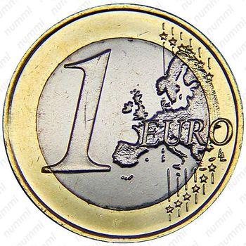 1 евро 2015 - Реверс