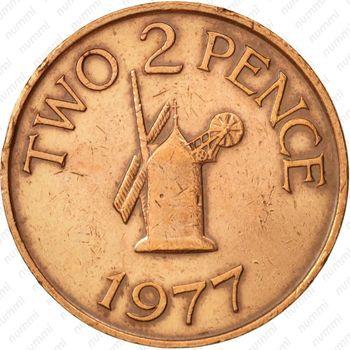 2 пенса 1977