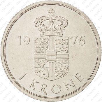 1 крона 1976