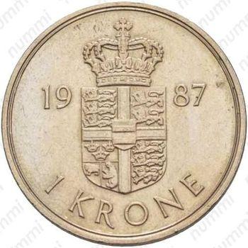 1 крона 1987
